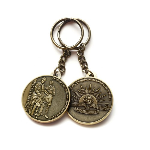 pembuatan gantungan kunci logam